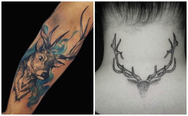 Tatuajes de venados