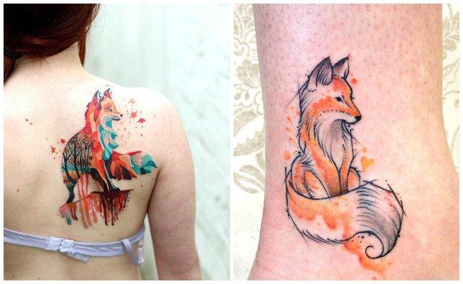 tatuajes de zorros para mujeres significado