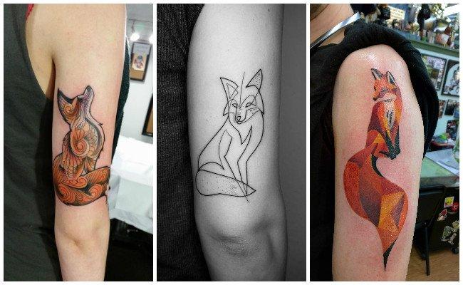 Tatuajes de zorros del principito