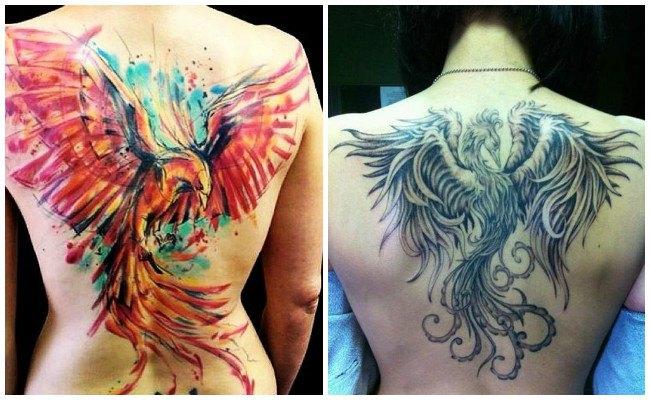 Tatuajes del fénix