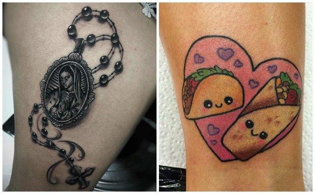 Tatuajes dela santa muerte