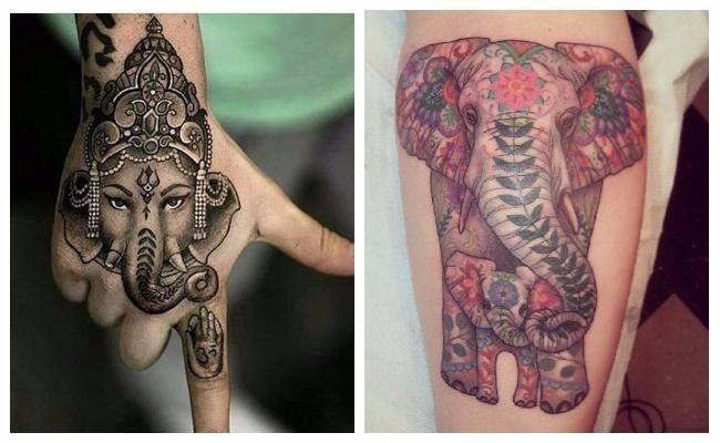 Tatuajes de diosa elefante