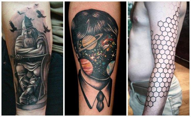 Tatuajes en el antebrazo con letras