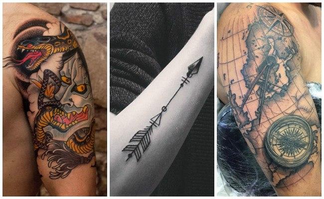 Tatuajes en el brazo de brazalete