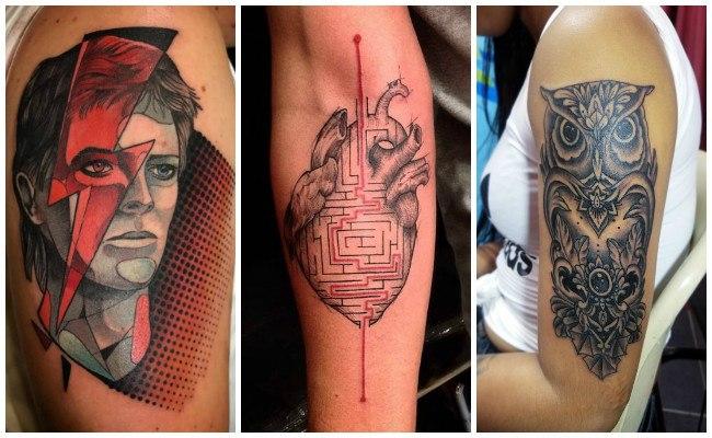 Tatuajes en el brazo entero