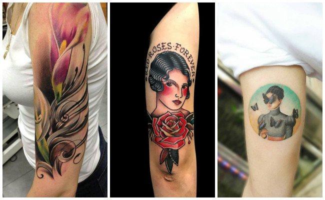 Tatuajes en el brazo izquierdo
