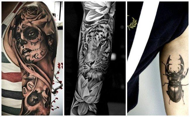 Tatuajes en el brazo medianos