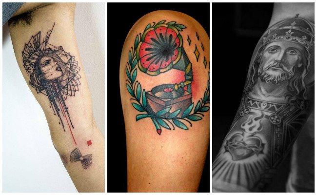 Tatuajes en el brazo en mujeres