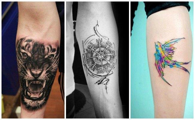 Tatuajes en el brazo realistas