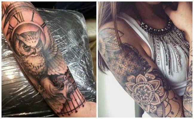 Tatuajes En El Brazo Entero Y El Antebrazo Mujeres Y Hombres