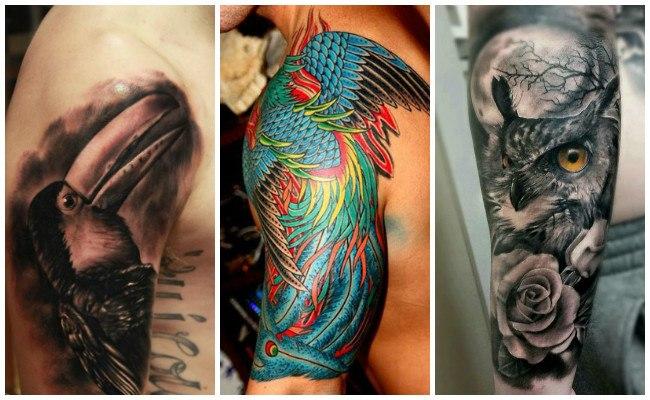 Tatuajes en el brazo de rosario