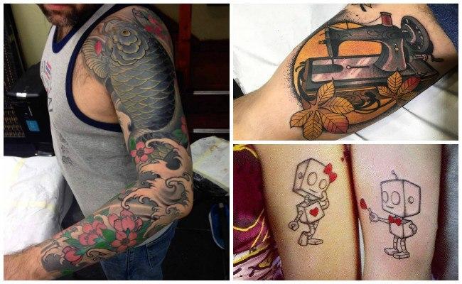Tatuajes en el brazo con runas
