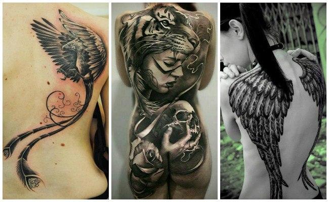 Tatuajes en la espalda bonitos