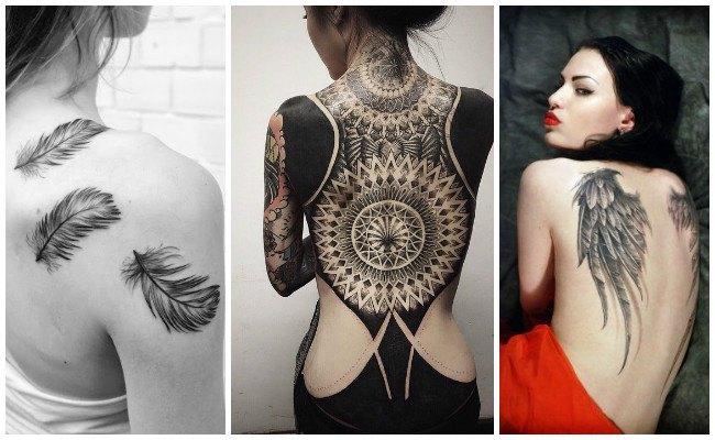 Tatuajes en la espalda y su significado
