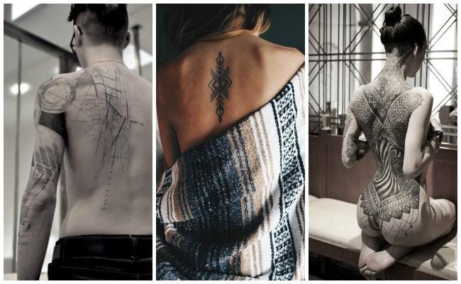 Tatuajes en la espalda 3d