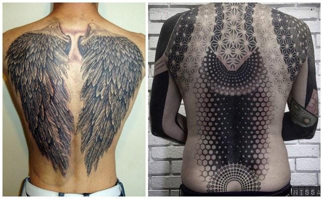 Tatuajes en la espalda para chicos