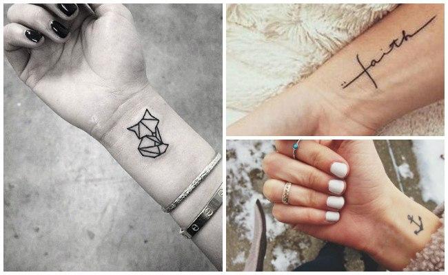 Tatuajes en la muñeca y sus diseños
