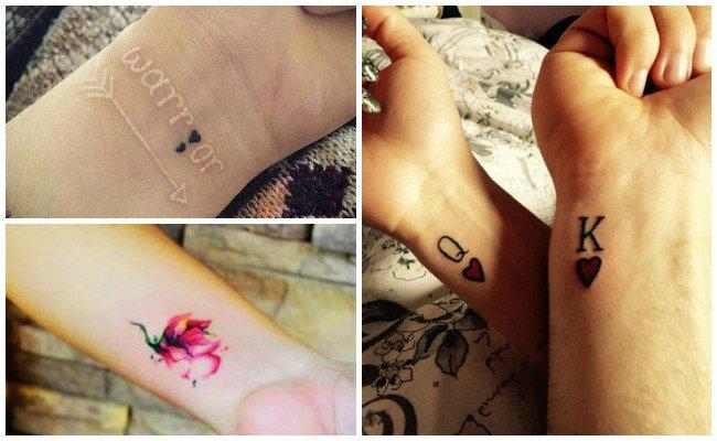 Tatuajes en la muñeca en hombres