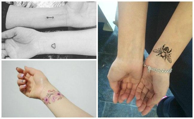 Tatuajes en la muñeca de amor