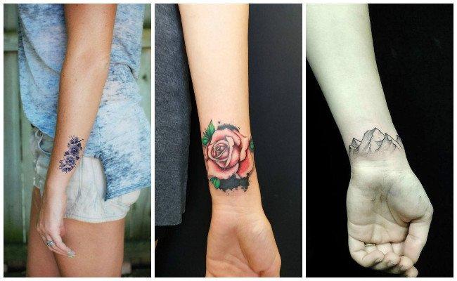Tatuajes en la muñeca modo pulsera