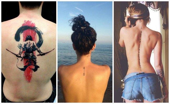 Tatuajes en la espalda que sean chiquitos