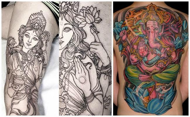 Tatuajes espirituales hindúes
