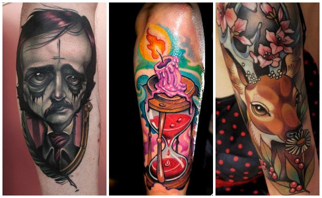 Tatuajes de estilo new school