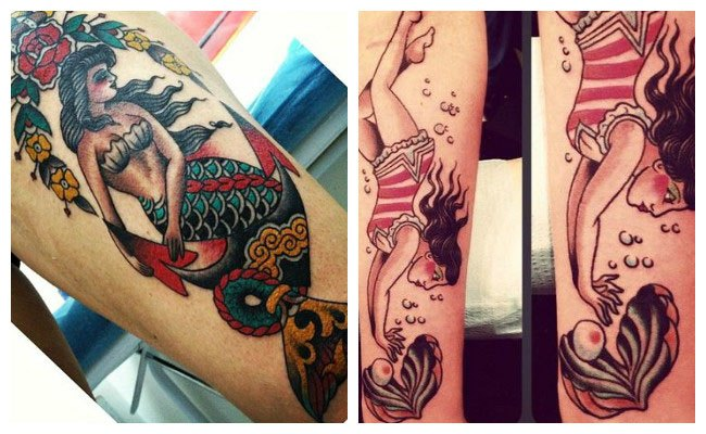 tatuajes estilo pin up