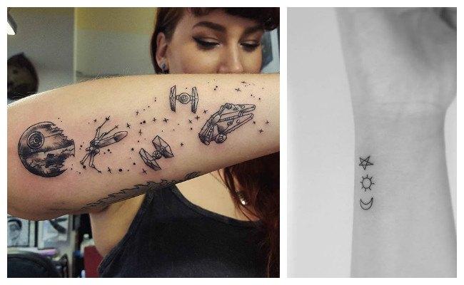 Tatuajes de estrellas en el brazo
