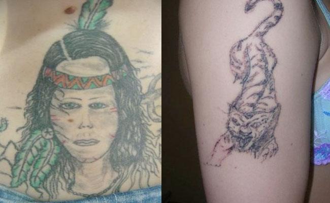 tatuajes feos