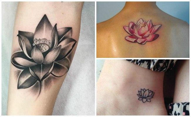 Tatuajes de flor de loto y su significado