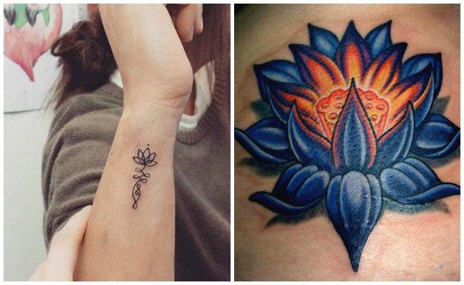 Imagenes Tatuajes De Flor De Loto Mujeres Y Hombres