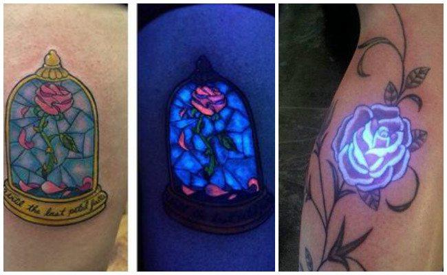 Tatuajes fluorescentes sin luz ultravioleta