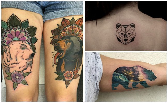 Tatuajes de garras de oso