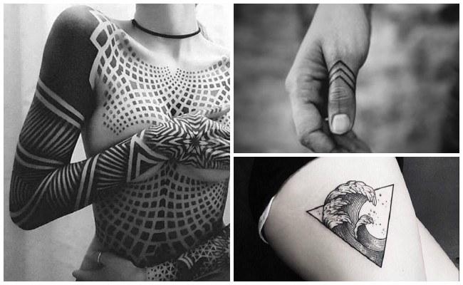 Tatuajes geométricos de animales