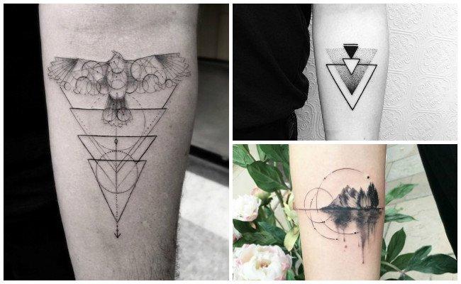 Tatuajes geométricos y diseños