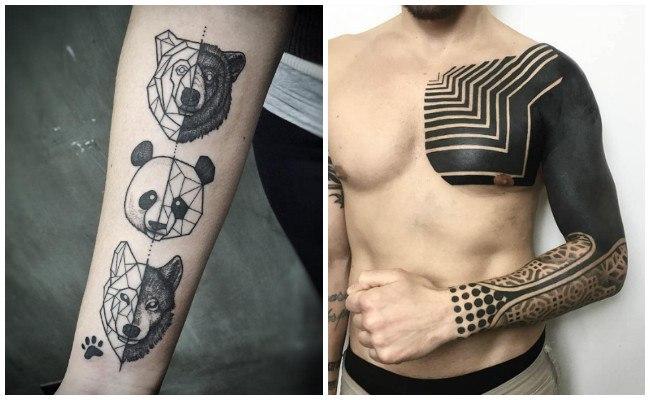 Tatuajes geométricos maories