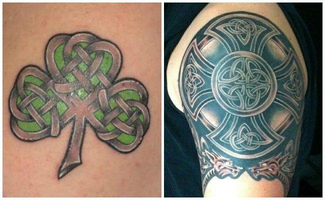 Tatuajes de guerra celta