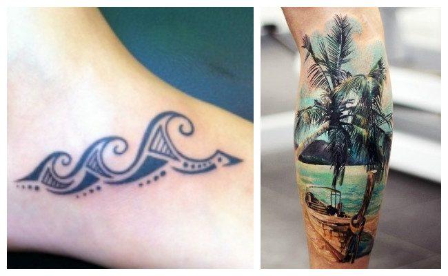 Tatuajes hawaianos y diseños