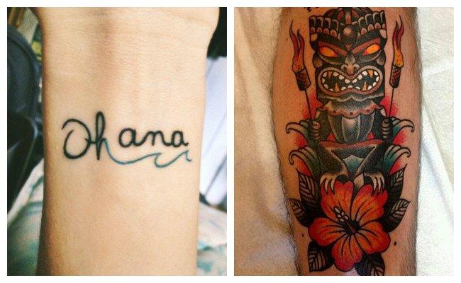 Tatuajes hawaianos y fotos
