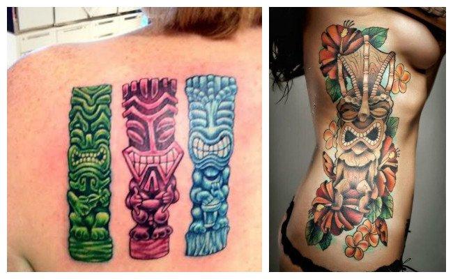 Tatuajes Hawaianos Ohana Tiki Brazaletes Y Su Significado