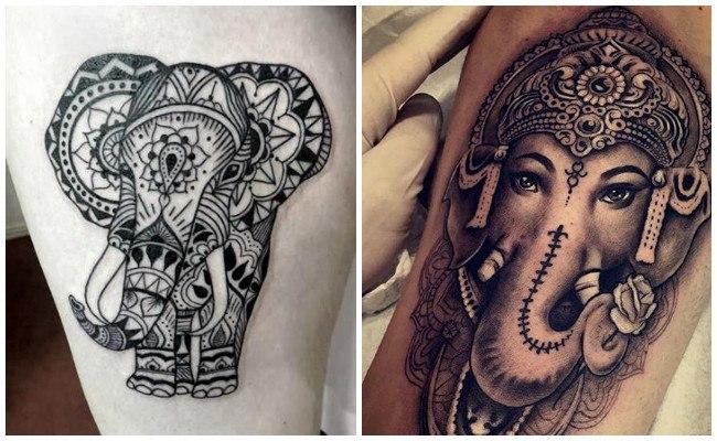 Tatuajes hindúes para hombres