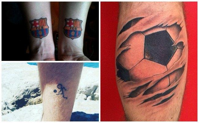 Tatuajes de jugadores de fútbol