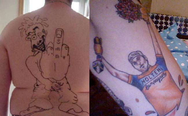 tatuajes mal hechos