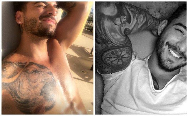 Tatuajes de maluma en el brazo