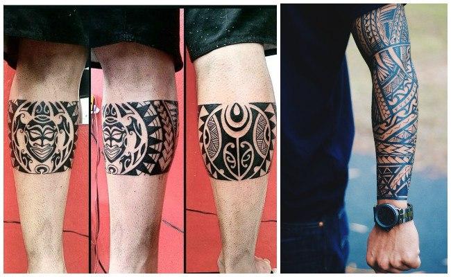 Tatuajes MAORES y PolinesiosDiseos y Significados