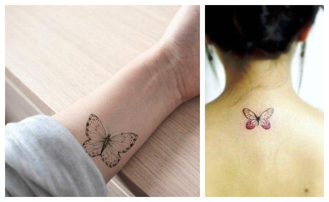 Imágenes de los mejores tatuajes de mariposas