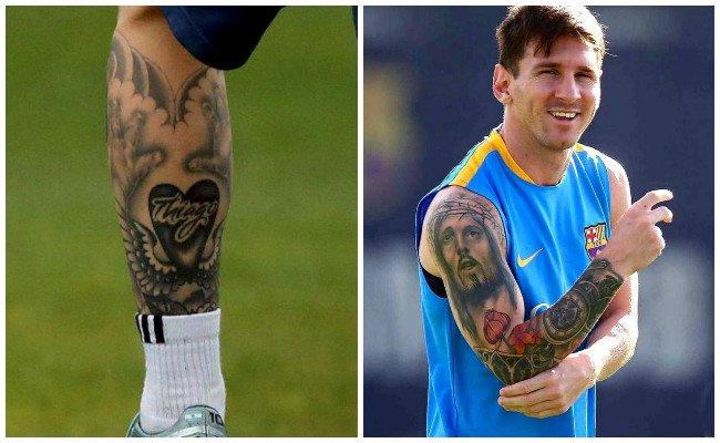 Tatuajes de messi y nuevos