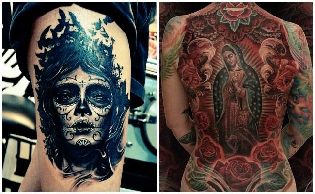 Tatuajes mexicanos con fotos