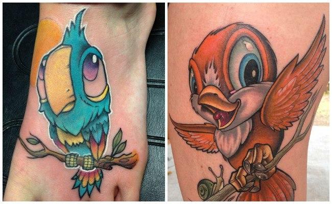 Tatuajes modernos en el brazo